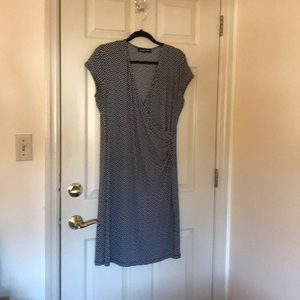 Jones NY slip-on dress. Not quite sleeveless.